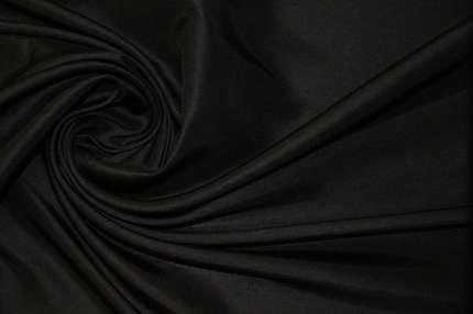 Дикий шёлк тусса чёрно-серый
