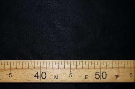 Хлопок плательно-сорочечный чёрный