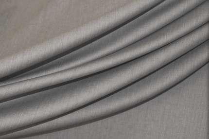Шерсть плательно-костюмная светло-серая