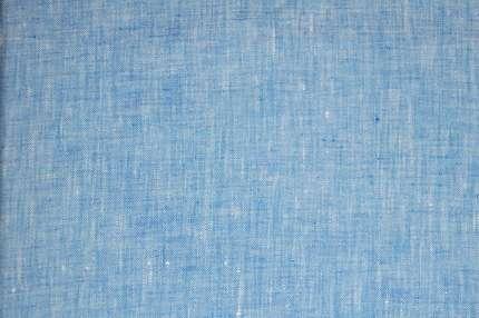 Лён плательно-сорочечный голубой
