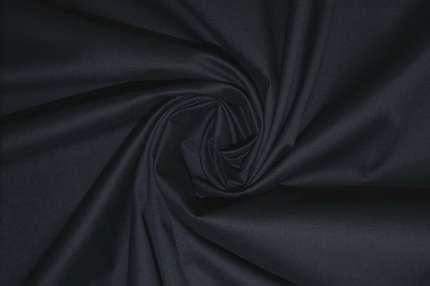 Хлопок стрейч плательно-сорочечный синий