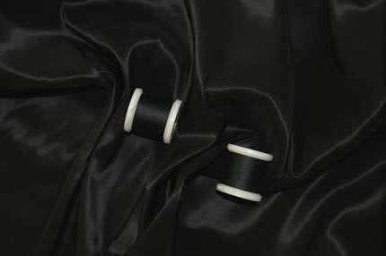 Подкладочная вискоза стрейч черная