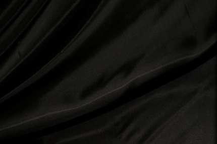 Вискоза подкладочная черная