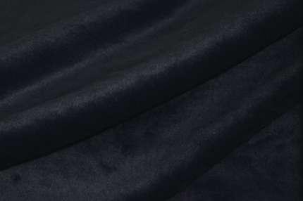 Мех искусственный темно-синий